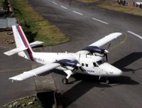 A plane at Lukla