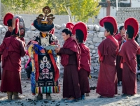Monks in Upper Mustang