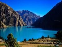 Phoksundo Lake in Ringmo Village Dolpo