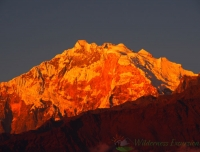 Sunset view from Ghorepani