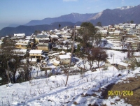 Ghale Gaun in Winter