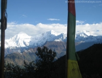 View of Ganesh Himal