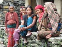 Local women from Ganesh Himal Region