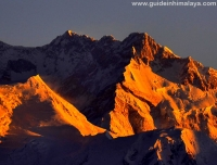 Sunset on Mt. Kanchenjunga