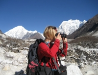 Capturing scenes in Manaslu Trek