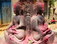 Buddha Statue in Bungamati