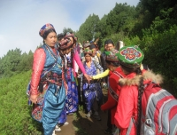 Tamang People in Langtang