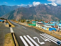 Lukla Airport, the main gate way to Everest Base Camp trek