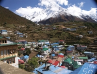 Namche Bazaar - beautiful Sherpa town