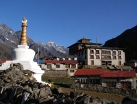 Tengboche Monastery - the region´s most active Buddhist temple