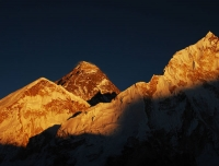 Sunset View on Mount Everest from Kala Patthar