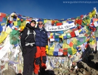 On Gokyo Peak