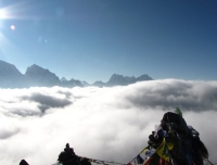 View from Gokyo Peak