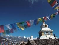 Stupa in Helambu
