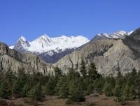 Landscape in Annapurna Circuit