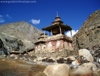 A Chorten in Nar Phu Valley