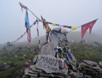 Mardi Himal Base Camp 4500 meters