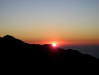 Sunrise view from Pothana in Mardi Himal Trek