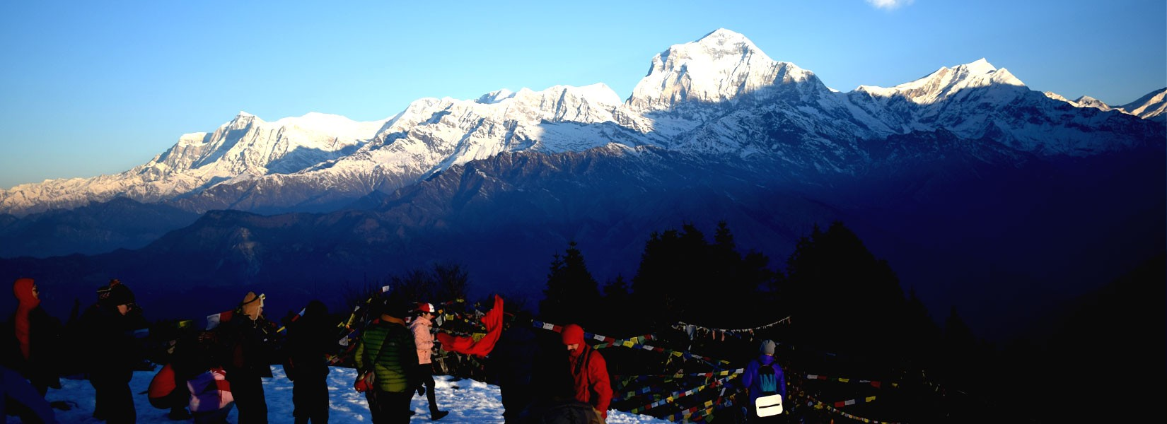 View of Mt. Dhaulagiri Range from Poon Hill