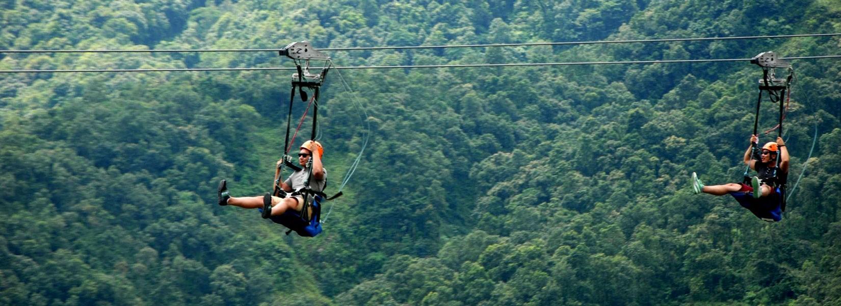 Extreme Zip Line Nepal
