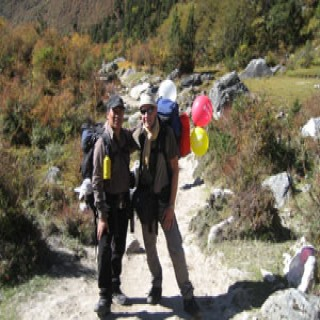 Manaslu Trek 2011 with Pradip